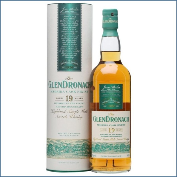 GlenDronach 19  Year Old Madira Cask Finish 70cl 46%