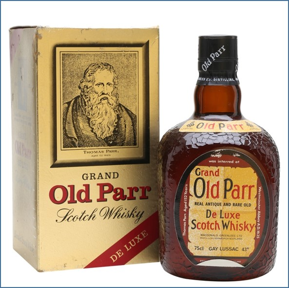 Grand Old Parr Bot.1970s 75.7cl 43%