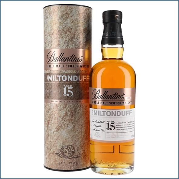 Ballantine's Miltonduff 15 Years Old Speyside Single Malt Scotch Whisky 70cl 40%