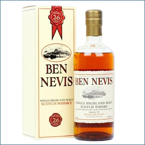 Ben Nevis 26 Year Old 1973  Cask #750 70cl 53.2%