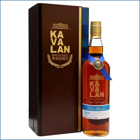 Kavalan Solist Pedro Ximenez Cask #032A (2010) Taiwanese Single Malt Whisky