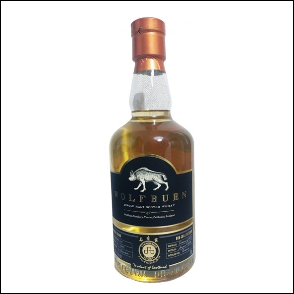 Wolfburn 4 years old The Wolf Girl Single Cask 2015-2019 70cl 56.1%
