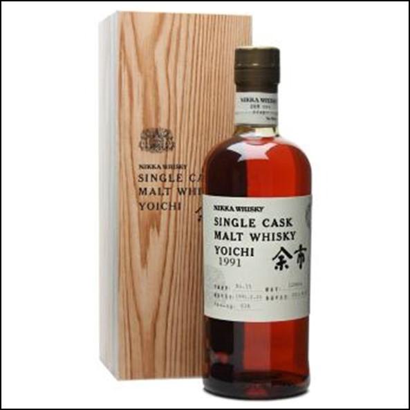 余市威士忌 1991