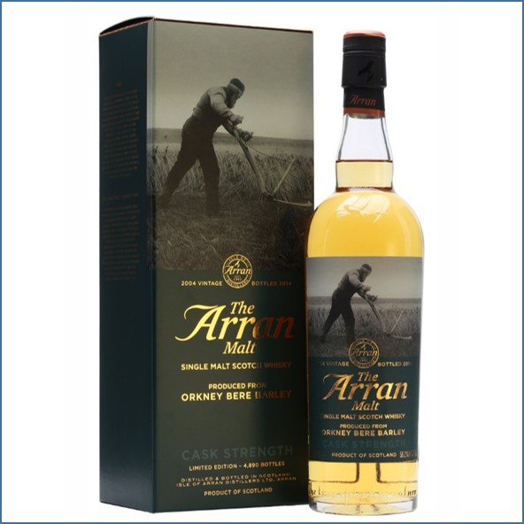 Arran 10 Year Old 2007 James MacTaggart 10th Anniversary 70cl 54.2%