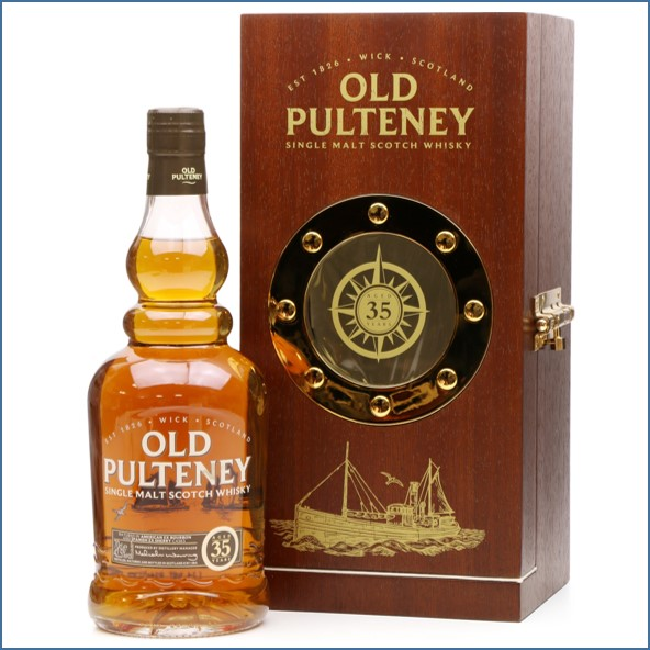Old Pulteney 35 Years Old - 1st Release 70cl 42.5%