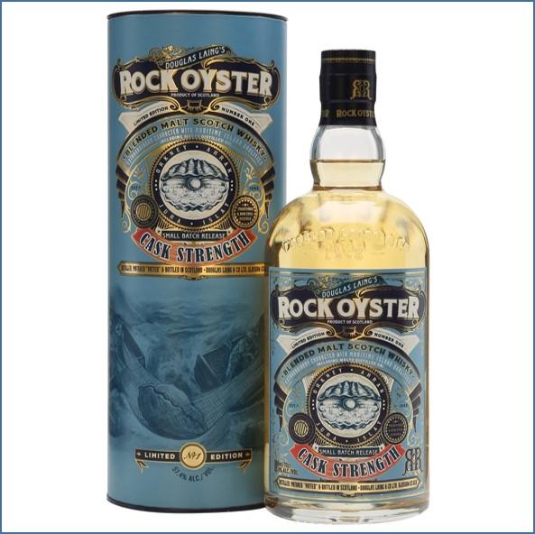 Rock Oyster Cask Strength No.1 Douglas Laing Blended Malt Scotch Whisky 70cl 57.4%