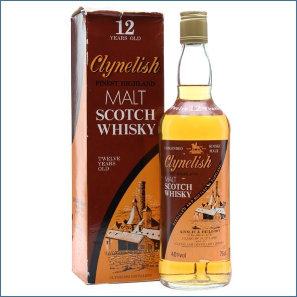 Clynelish 12 Year Old Bot.1980s Highland Single Malt Scotch Whisky 75cl 40%