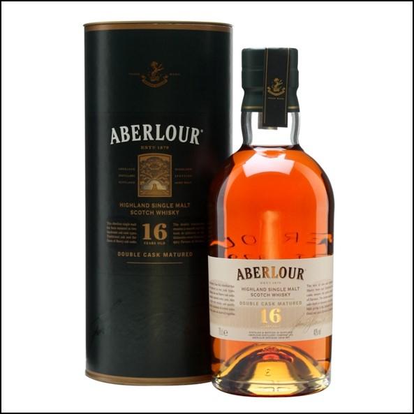 ABERLOUR 16 YEAR OLD Double Cask 70cl 40% 收購亞伯樂16年 雙桶