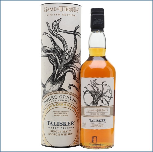 Talisker Select Reserve Game of Thrones House Greyjoy 70cl 45.8%
