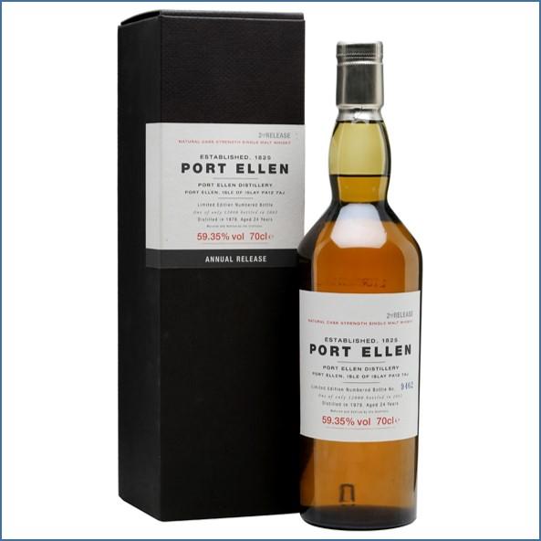 Port Ellen 1978  24 Year Old  2th Release 2002 70cl 59.35%