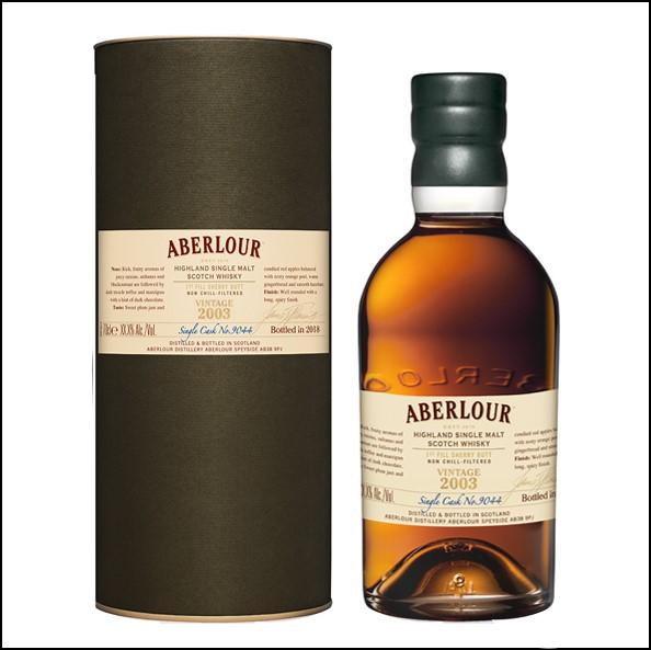 Aberlour Single Cask 2003 Sherry 70cl 58.9% 收購亞伯樂2003雪莉
