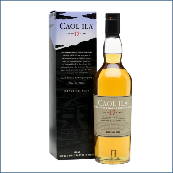 CAOL ILA 17 YEAR OLD UNPEATED Special Releases 2015 70cl 55.9% 卡爾里拉17年威士忌