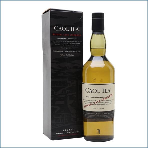 CAOL ILA NATURAL CASK STRENGTH 70cl 59.3%