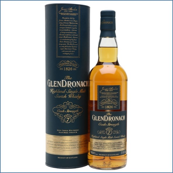 Glendronach Cask Strength Batch 7 70cl 57.9%