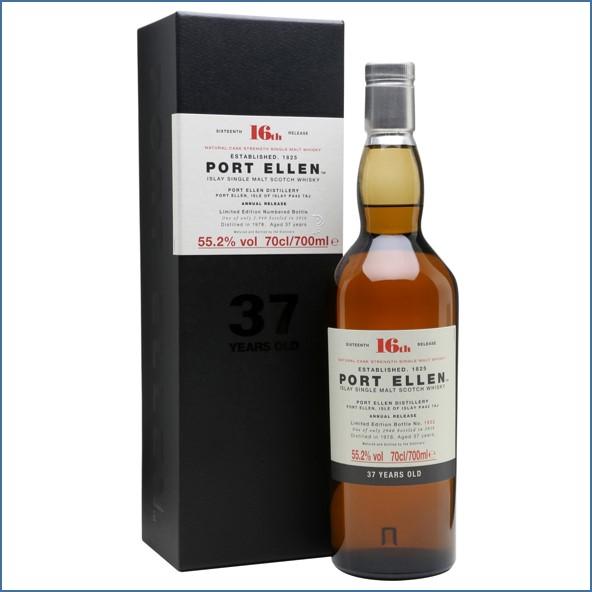 Port Ellen 1978 37 Year Old 16th Release 2016 70cl 55.2%