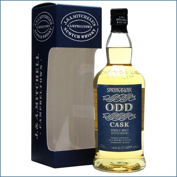 雲頂威士忌12年收購ODD/Springbank 12 Year Old ODD  Light Rum Cask #378 1997  Campbeltown Single Malt Scotch Whisky 70cl 46%