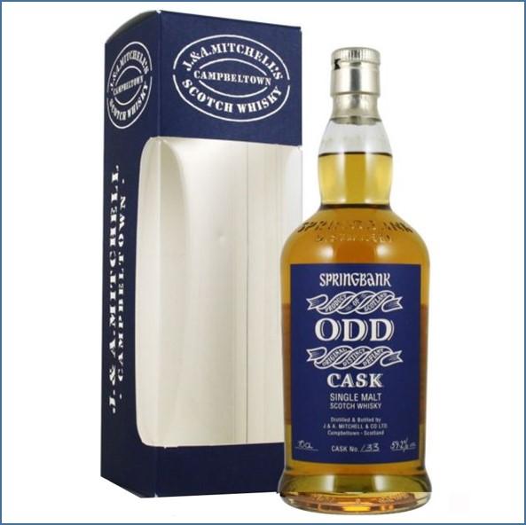 雲頂威士忌12年收購ODD/Springbank 12 Year Old ODD Cask Cask #133 1997 Campbeltown Single Malt Scotch Whisky 70cl 59.2%