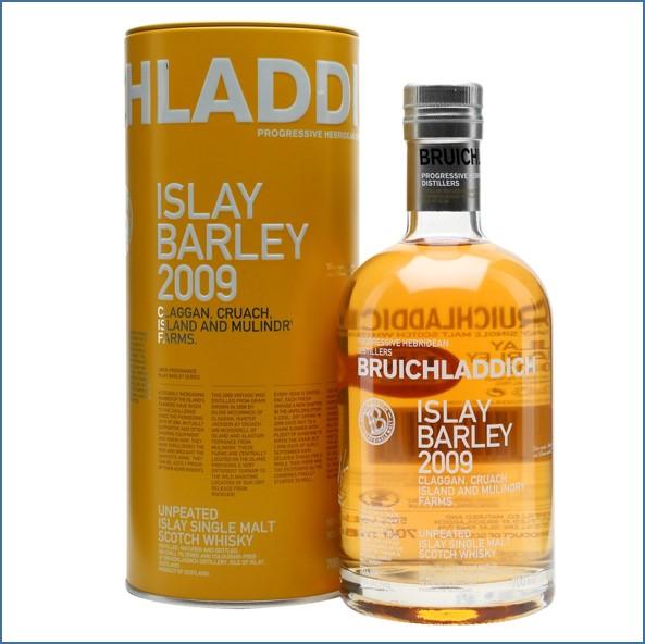 布萊迪收購 Bruichladdich Islay Barley 2009 70cl 50%