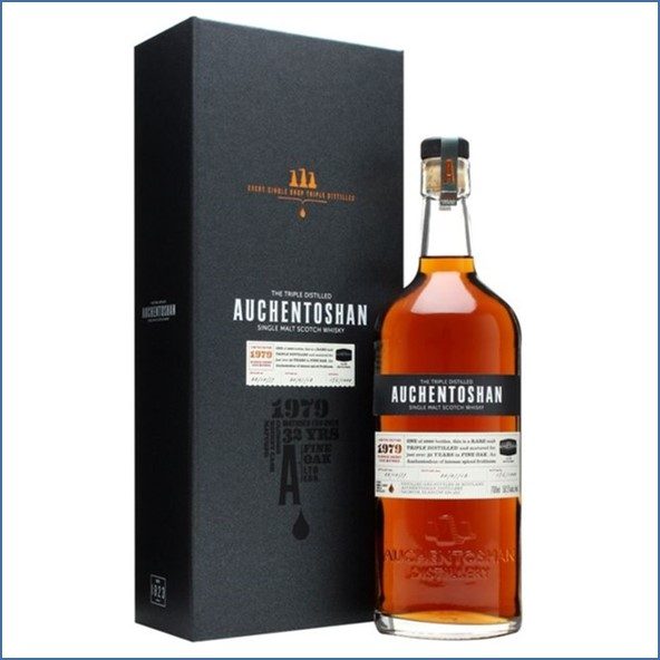 Auchentoshan 32 Year Old 1979  First Fill Sherry Cask  70cl 50.5%