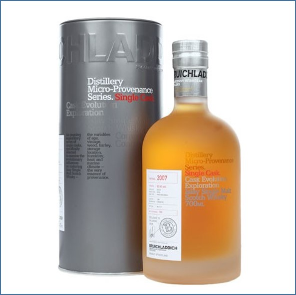 Bruichladdich 10 Year Old  Micro 2007 Provenance 1st Fill Syrah Cask 60.3% 70cl