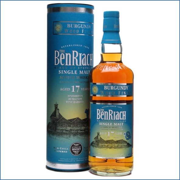 Benriach 17 Year Old Burgundy Wood Finish 70cl 46% 班瑞克17年 勃根地換桶