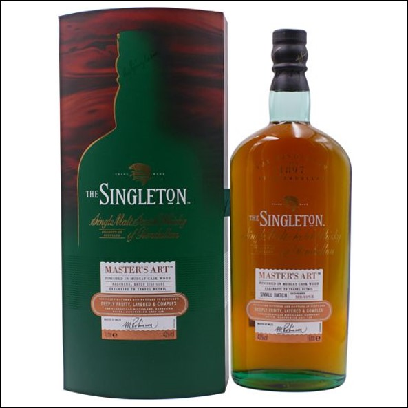 The Singleton of Glendullan Master's Art 100cl 40% 蘇格登 MASTER'S ART收購 Glendullan