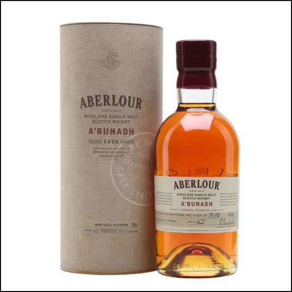 ABERLOUR A'BUNADH Batch 62 70cl 59.9% 收購亞伯樂單桶原酒