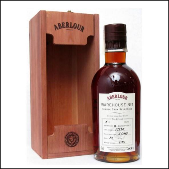 Aberlour 13yo 1989-2003 Warehouse No .1  70cl 58.7% First Fill Sherry Cask 13330 收購亞伯樂 13年 No.1