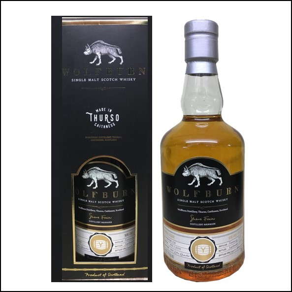 Wolfburn 3 years old Liquor Mountain 2015-2018 70cl 60.1%