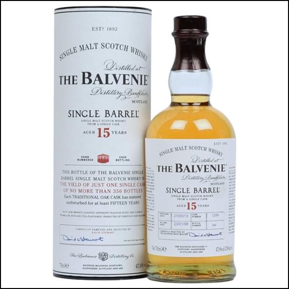 Balvenie 1995 15 Year Old  bot.2010 70cl 50.4%