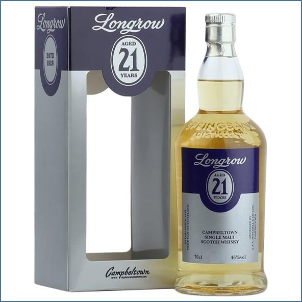 Longrow 21 Year Old - Bourbon Cask - Open Day 2016 - Signed Bottle 70cl 46%