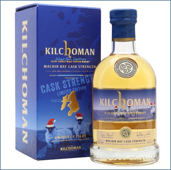 Kilchoman Machir Bay Cask Strength Islay Single Malt Scotch Whisky 70cl 58.6%