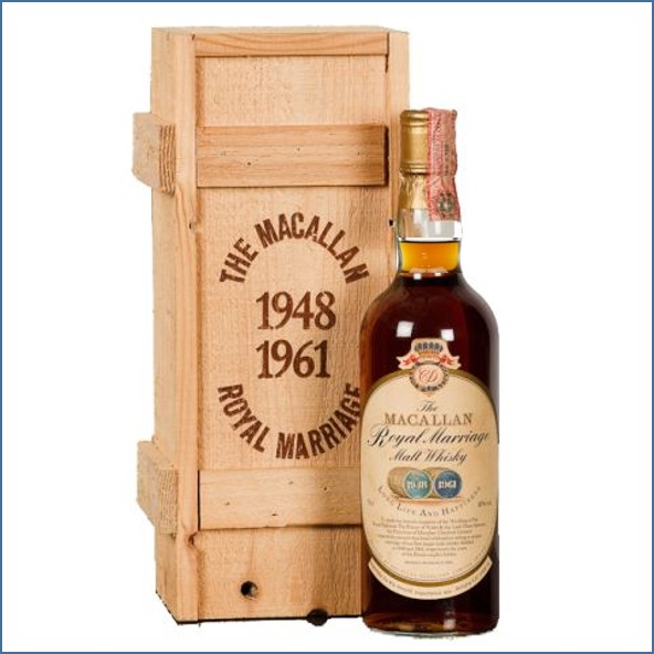 The Macallan Royal Marriage Bot.1981 75cl 43%