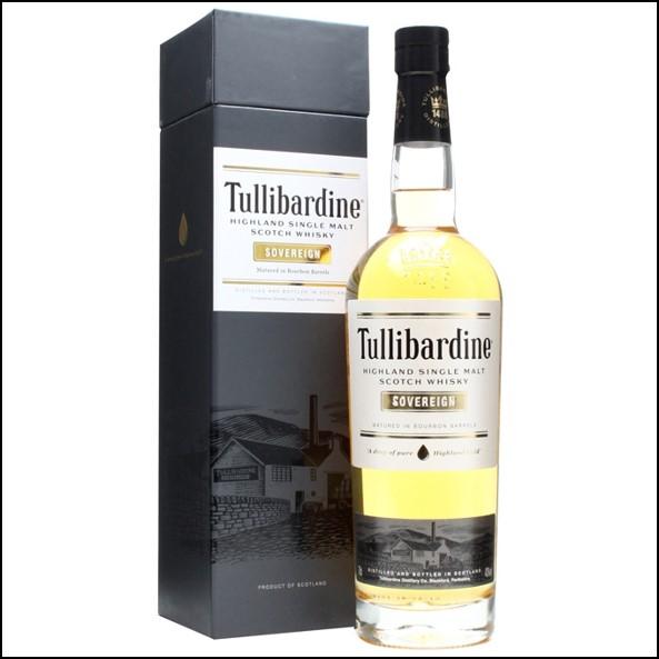 Tullibardine Sovereign Bourbon Cask 70cl 43%