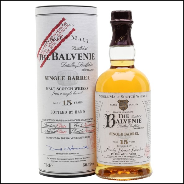 Balvenie 15 Year Old Sandy Grant Gordon Bottling 70cl 50.4%