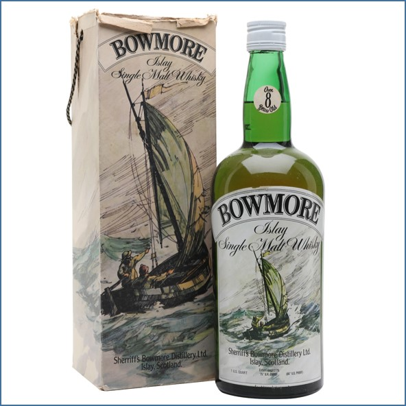 Bowmore 8 Year Old Sherriff's Bot.1960s 113cl 43%