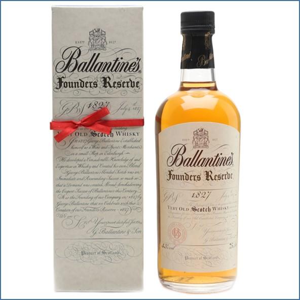 Ballantine's Founders Reserve 1827 Bottled 1980s 75cl 43%