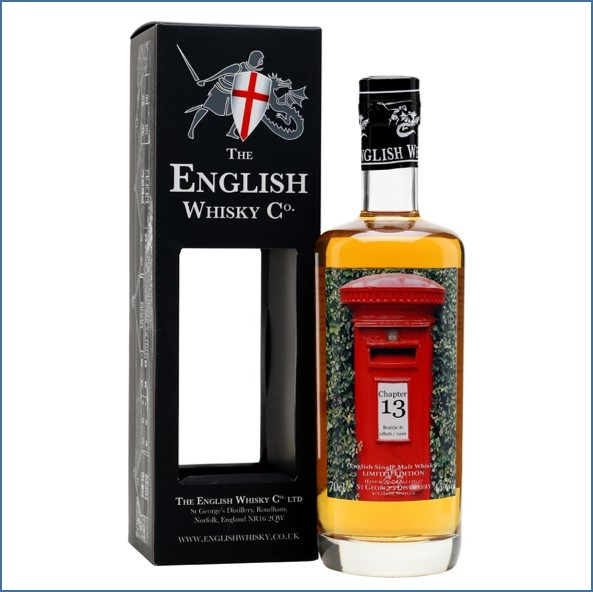 The English Whisky Co. Chapter 13 St George Limited Edition 70cl 45%