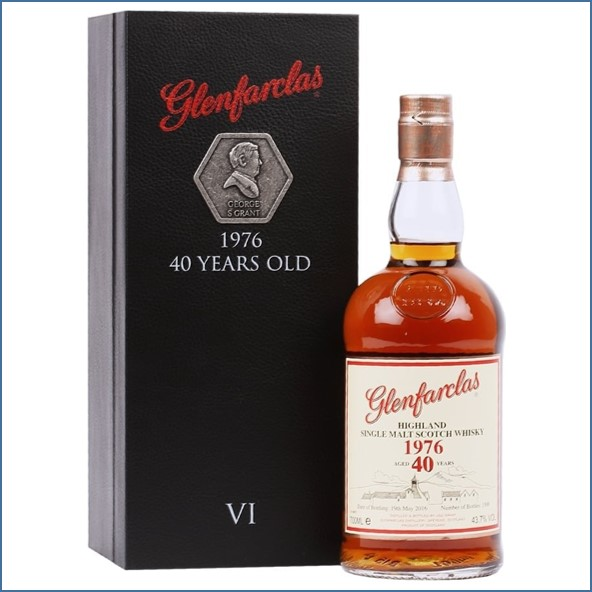 Glenfarclas 1976  40 Year Old  Family Collection Ⅵ 70cl 43.7%