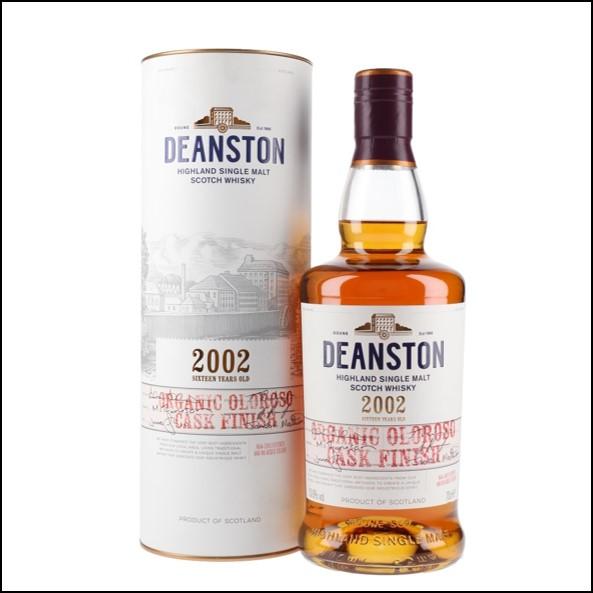 Deanston 2002 16 Year Old Organic Oloroso Finish 70cl 50.6%