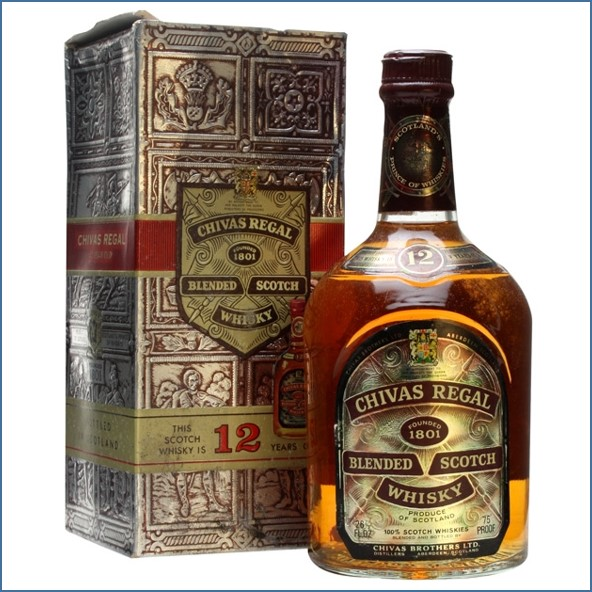 Chivas Regal 12 Year Old bottled 1970s 75cl 43%