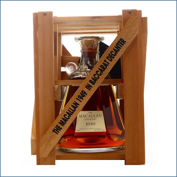 收購麥卡倫 1949 水晶 Macallan 1949 Baccarat Decanter 75cl 40.25%