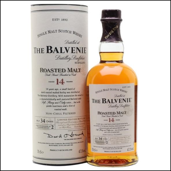 Balvenie 14 Year Old Roasted Malt 70cl 47.1%