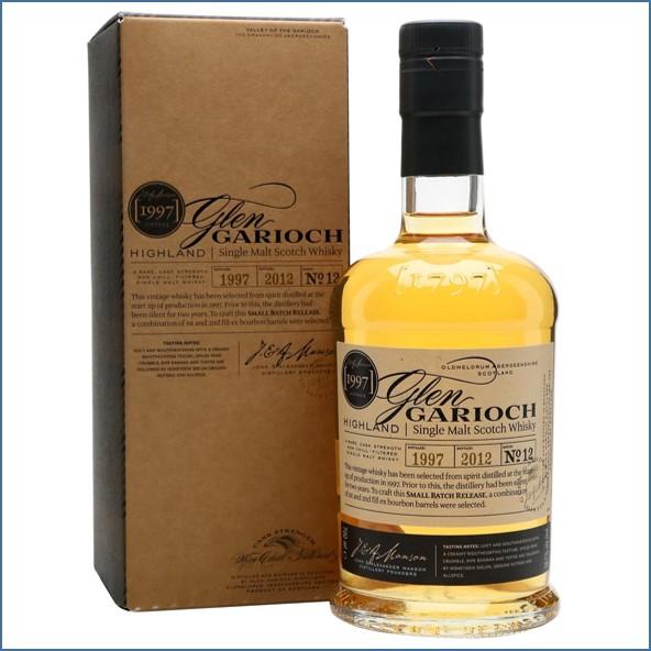 Glen Garioch 1997 15 Year Old 2012 Small Batch Release 70cl 56.7%