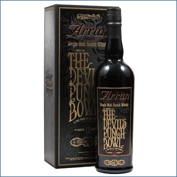 Arran The Devil's Punch Bowl Chapter  III 70cl 53.4%