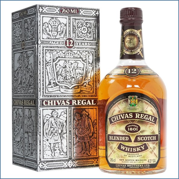 Chivas Regal 12 Year Old 76cl 43%