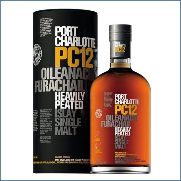 Port Charlotte PC12 Oileanach Furachail 70cl 58.7%