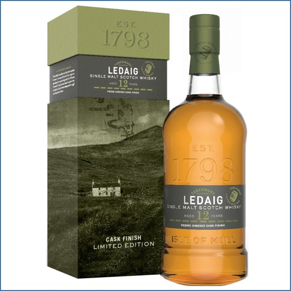 Ledaig 12 Years Old 2007 PX Cask Finish 70cl 55.5%