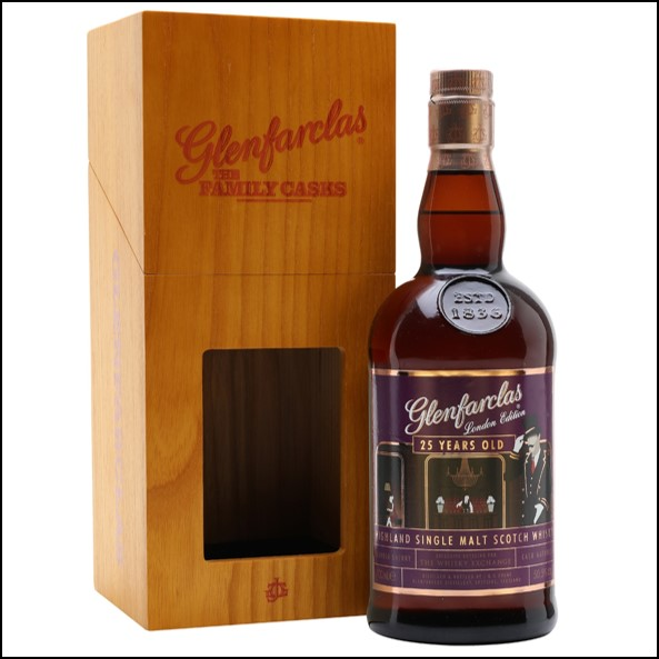 Glenfarclas 25 Year Old  London Edition  TWE Exclusive 70cl 50.5%