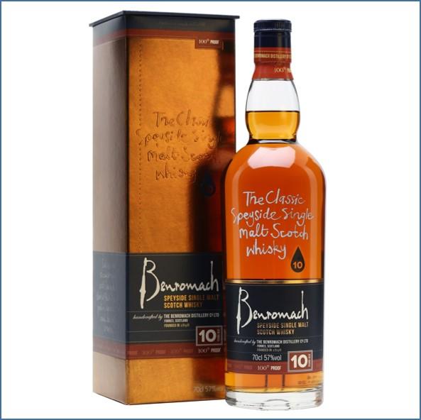 收購百樂門10年原酒威士忌,百樂門10年原酒威士忌收購, Benromach 10 Year Old 100 Proof Bot.2009 70cl 57%